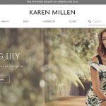 カレン・ミレン(Karen Millen)イギリスのテーラードファッションブランド